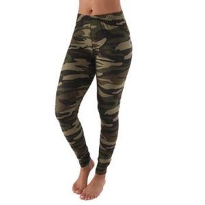 Pants - Camo leggings - one size and plus